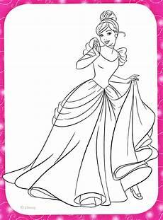 Malvorlagen Prinzessin Disney Walt Disney Coloring Pages Princess Cinderella Walt