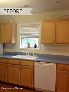 update your cabinets with contact paper