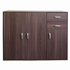 redstone sideboard cupboard 3 doors 2 drawers beech