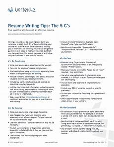 Resume Content Tips Free Resume Writing Tips