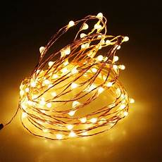 Wire Christmas Tree With Led Lights 3aa Battery Powered 4m 40 Led Copper Wire Christmas