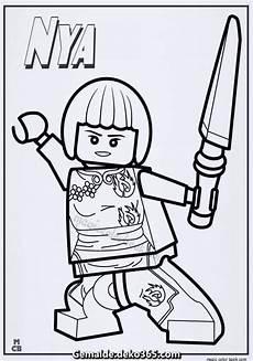 elegante ausmalbilder ninjago lego nya ausmalbilder