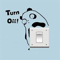 Turn Bedroom Lights Off Aliexpress Com Buy Turn The Light Off Switch Sticker