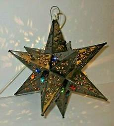 Moravian Tin Star Light Mexican Bronze Moravian Punched Tin Star Light Chandelier