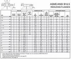 Api Flange Chart Stainless Steel Reducing Flange Asme B16 5 Reducing