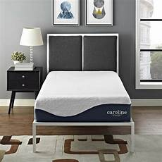 10 quot cool air gel infused size memory foam mattress