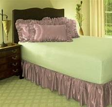 14 quot drop solid easy fit set up pleated corners 1 pc bed