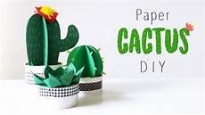 paper cactus diy 2017 tutorial