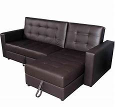 button tufted sofa bed set brown aosom ca