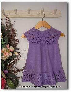 knitting dress lindapendante dreams meredith lace knit baby dress