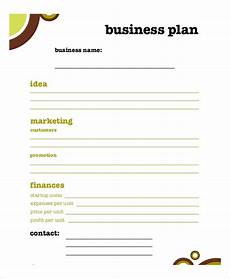 Free Download Business Plan Templates Business Plan Template 11 Free Word Pdf Documents