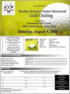 Golf Outing Flyers 2007 Bbc Golf Outing