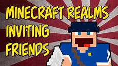 minecraft realms creating and accepting invitations on