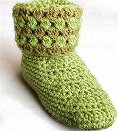 booties crochet slippers petals to picots