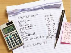 Budget And Expenses 6 Step Guide To Creating A Monthly Household Budget