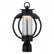 Chateau Lighting Hours Designers Fountain Arbor 9 In Burnished Bronze Led Post