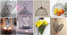 diy ideen 13 spectacular diy chicken wire craft ideas