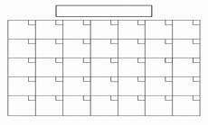 Printable Blank Calendar Printable Full Page Blank Calendar Template Calendar