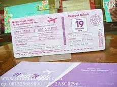 undangan boarding pass undangan pernikahan boarding pass poin undangan adalah