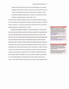 Apa Writing Style Example Conventional Language Sample Apa Essay With Notes