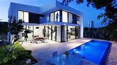 superb symmetrical minimalist modern luxury house in