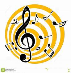 Music Note Logo Logo With Music Notes Stock Vector Illustration Of Song