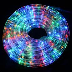 Outdoor Multi Coloured Rope Lights 12m Multi Function Indoor Outdoor Festive Christmas