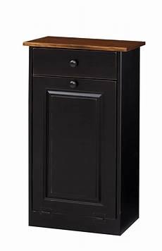 trash bin cabinet w wood amish furniture connections