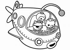 octonauts to adventure coloring page coloring pages