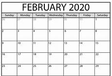 month calendar february 2020 printable february 2020 calendar pdf wallpaper free