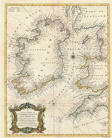 Sea Charts Ireland A Correct Chart Of St Georges Channel And The Irish Sea