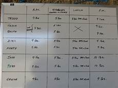 Hay Chart Weighing And Saving Your Hay By Jackie Brittain
