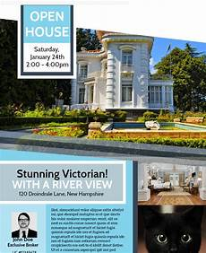 Broker Open House Flyer Free Open House Flyer Templates Download Amp Customize