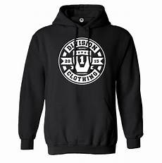Black And White Designer Hoodie Limited Edition Division One Hoodie Black Neppo Designs