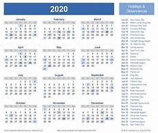 at a glance calendar 2020 best of printable year at a glance calendar 2020