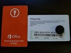 Ms Office Business Cards Microsoft Office Home Amp Business 2016 Product Key Card Sku