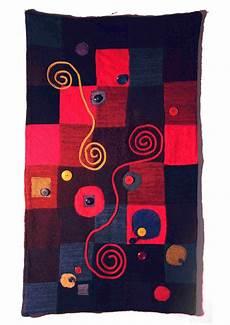 patchwork wandbehang weiteres textiler wandbehang quadrate patchwork strick
