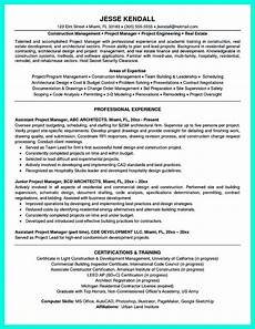Examples Of Project Management Resumes Cool Construction Project Manager Resume To Get Applied