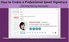 Creating A Professional Email How To Create A Professional Gmail Signature The Easy