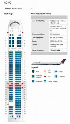 Delta Boeing Douglas Md 80 Seating Chart Douglas Md 85 Seating Chart Delta Brokeasshome Com