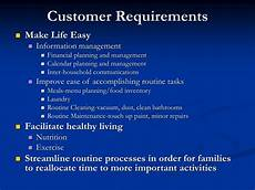 Customer Service Requirements Ppt Homesync Systems Inc Powerpoint Presentation Id
