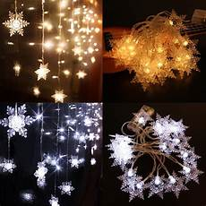 Warm White Christmas Lights Outdoor Led String Lights Snow Fairy 2m 20led 5v Powered Outdoor