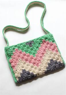 c2c geo crochet bag pattern zeens and roger