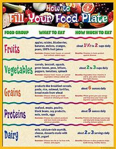 Good Eating Habits Chart How To Fill Your Plate Chart Healthy Food Habits