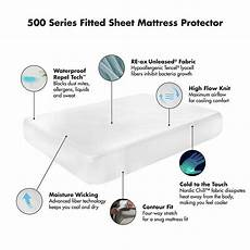 protect a bed 500 series waterproof fitted sheet cooling
