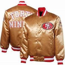 kid sports coats 49ers san francisco 49ers prime button satin jacket gold