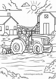 Malvorlagen Pdf Malvorlage Bauernhof Traktor Malvorlagen Bauernhof