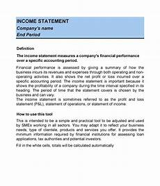 Income Expense Statement Template 27 Income Statement Examples Amp Templates Single Multi
