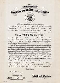 Officer Promotion Certificate Template Chief Warrant Officer W3 Certificate