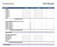 Sample Business Budget Template 10 Sample Business Budget Templates Sample Templates
